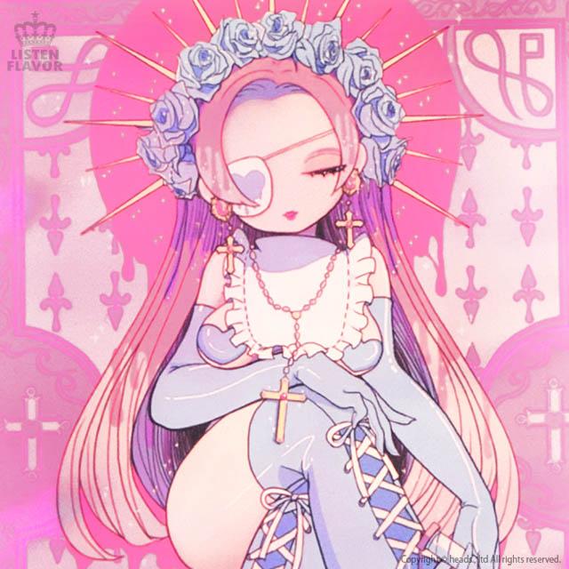 Holy girl ポーチ 【PINK】/Yummy! [原宿系ファッション]