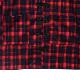 ハッピーフォーチュンチャイナシャツ【RED CHECK】/リッスンフレーバー