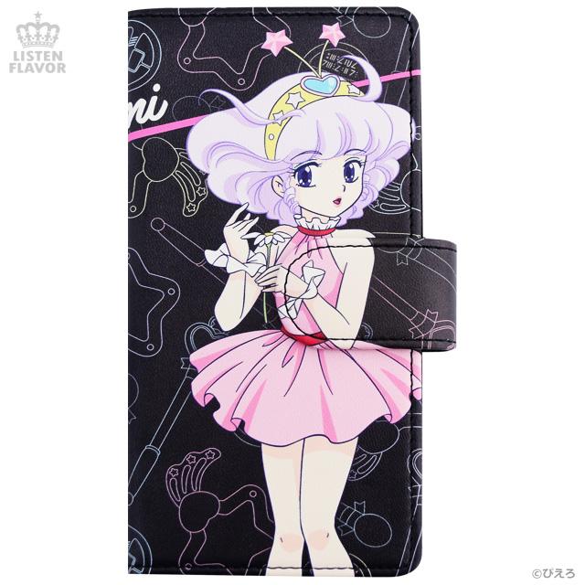 クリィミーマミ ハードケース付手帳型iPhoneケース / 魔法の天使クリィミーマミ×リッスンフレーバー [原宿系ファッション]