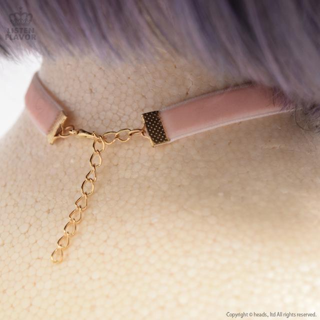 天使の羽チョーカー 【PURPLE】  /Kuuai