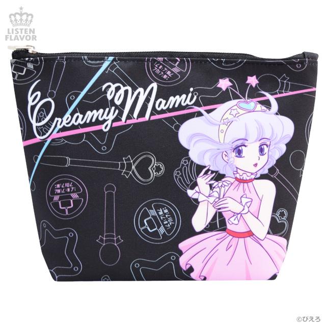 ピンクドレスの魔法の天使 マチ付きポーチ/ 魔法の天使クリィミーマミ×リッスンフレーバー [原宿系ファッション]