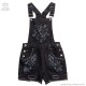 Samona Overalls【BLACK】/KILLSTAR(キルスター)[原宿系ファッション]