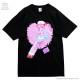 うさぎナースTシャツ【BLACK】 / Yummy! [原宿系ファッション]