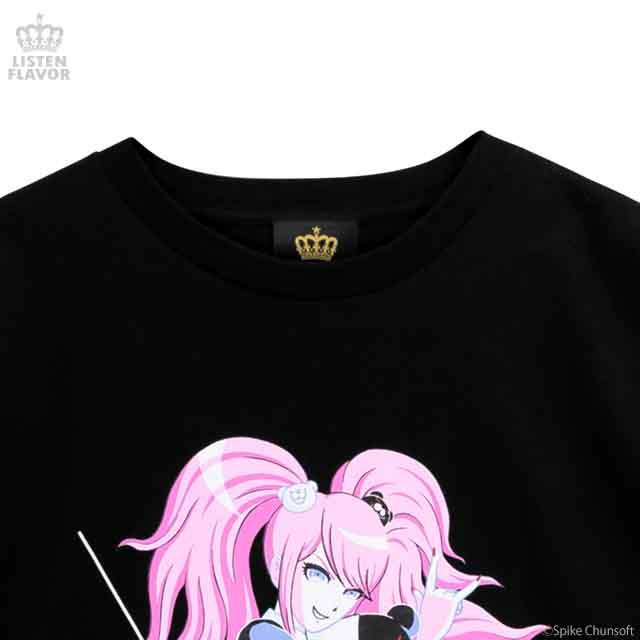 江ノ島盾子の絶望Tシャツ 【BLACK】 / ダンガンロンパ1・2 Reload×リッスンフレーバー