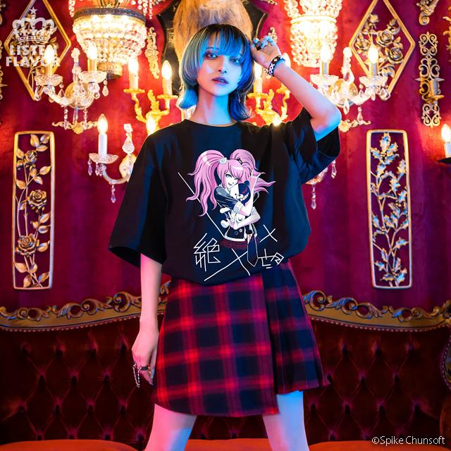 江ノ島盾子の絶望Tシャツ 【LAVENDER】/ ダンガンロンパ1・2 Reload×リッスンフレーバー