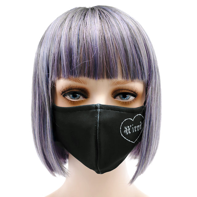 ワイヤードハートファッションマスク 【ワイヤードハート】/ リッスンフレーバー