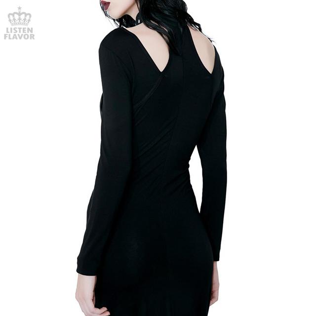 Jett Black She's Hot Dress【BLACK】/KILLSTAR(キルスター)