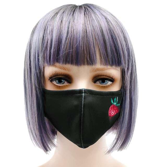 一粒のいちごファッションマスク 【いちご】/ リッスンフレーバー