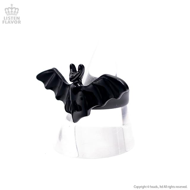 コウモリリング【BLACK】 [原宿系ファッション]