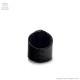 百合の紋章チェーンリング付レザーリング【黒×シルバー】/Brindle (ブリンドル)