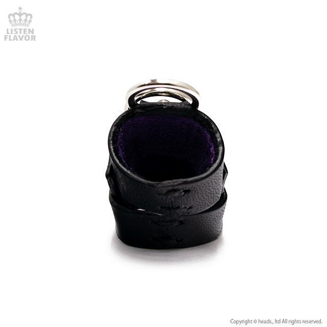 リング3連レザーアーマーリング【黒】/Brindle (ブリンドル)[原宿系ファッション]
