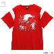 犬夜叉切り替えカットソー【RED】 /犬夜叉×リッスンフレーバー [原宿系ファッション]