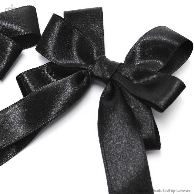 りとるシスターりぼんセット 【BLACK】 / melonDOLL-魔法少女-[原宿系ファッション]
