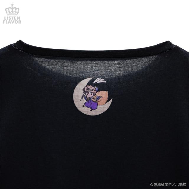 犬夜叉・かごめ妖怪退治カットソー【BLACK】 /犬夜叉×リッスンフレーバー