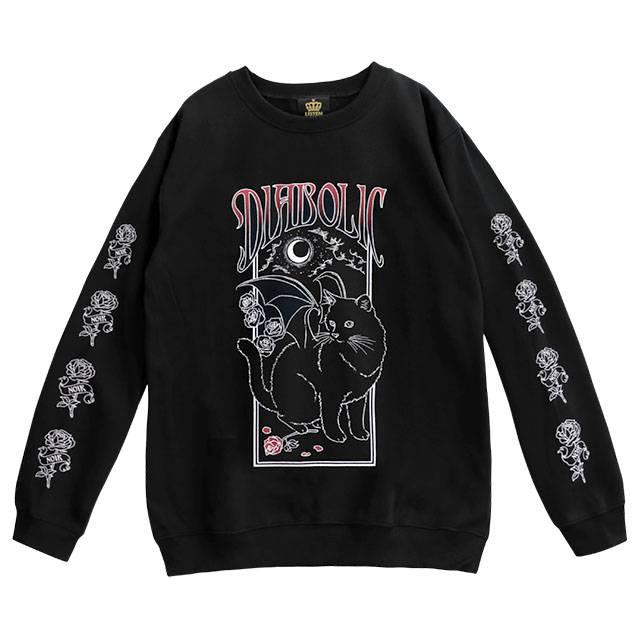 魔界のデビルネコプルオーバー 【BLACK×RED】 /リッスンフレーバー