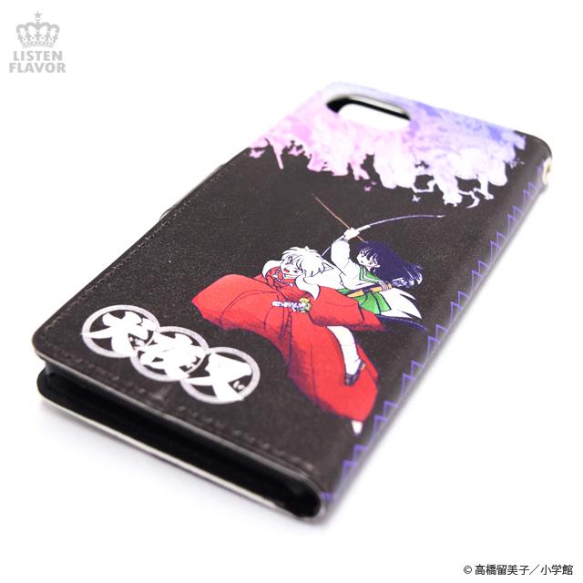 犬夜叉・殺生丸ハードケース付手帳型iPhoneケース / 犬夜叉×リッスンフレーバー [原宿系ファッション]