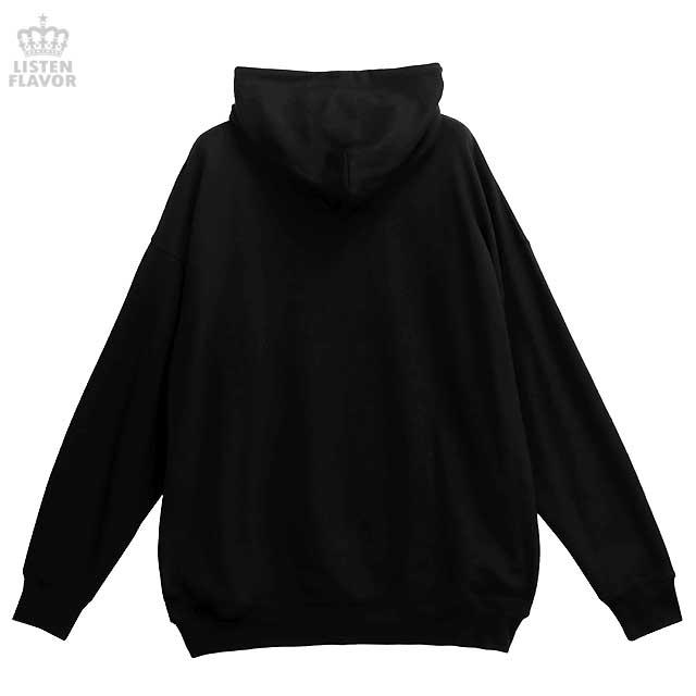 碧き宝石モルフォパーカー 【BLACK】/リッスンフレーバー
