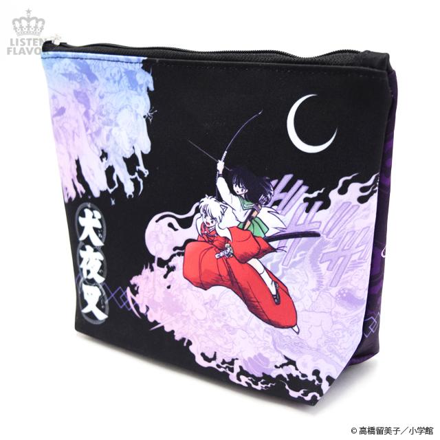 犬夜叉・殺生丸 マチ付きポーチ / 犬夜叉×リッスンフレーバー