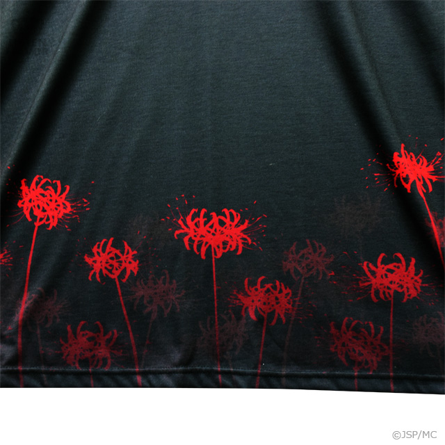 閻魔あい セーラーワンピ【BLACK】 / 地獄少女×リッスンフレーバー[原宿系ファッション]