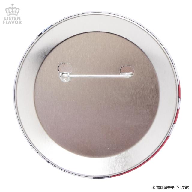 犬夜叉一行缶バッジ (76mm) / 犬夜叉×リッスンフレーバー [原宿系ファッション]