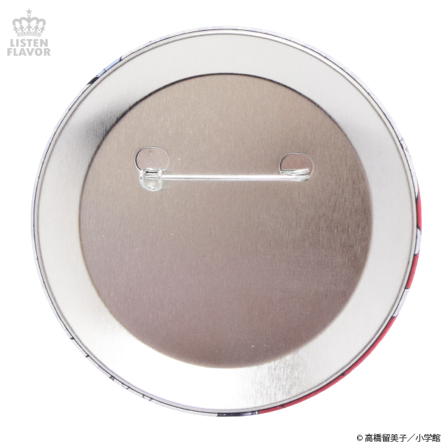 犬夜叉一行缶バッジ (76mm) / 犬夜叉×リッスンフレーバー