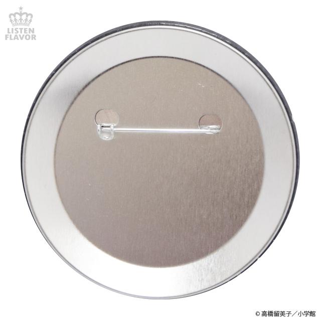 犬夜叉缶バッジ (76mm) / 犬夜叉×リッスンフレーバー [原宿系ファッション]
