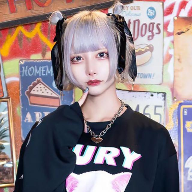シスターりぼんバレッタ【WHITE】 / melonDOLL-魔法少女-