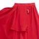 レイヤード風カーゴマキシスカート 【RED】/リッスンフレーバー