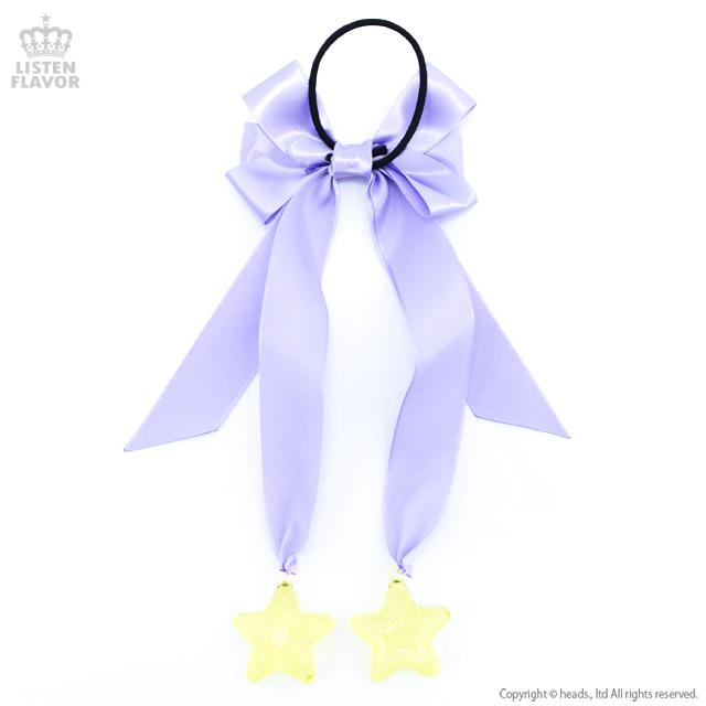 魔女っ子りぼんヘアゴム【LAVENDER】 / melonDOLL-魔法少女-[原宿系ファッション]