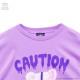ハーネスベアメガBIG Tシャツ 【LAVENDER】/リッスンフレーバー [原宿系ファッション]