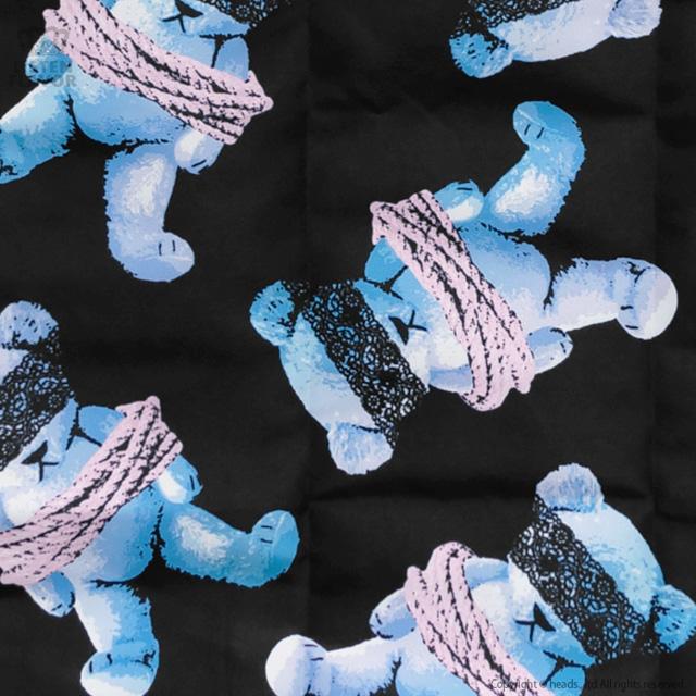 囚われのベア総柄エコバッグ 【囚われのベア】/リッスンフレーバー [原宿系ファッション]