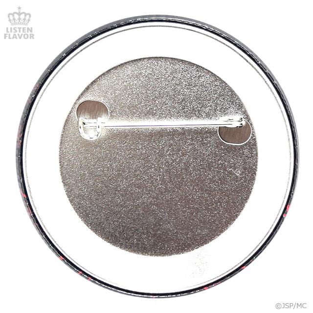 セーラー服と彼岸花缶バッジ (57mm) /地獄少女×リッスンフレーバー [原宿系ファッション]