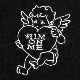 ハートを射止めるエンジェルカーデ 【CHARCOAL BLACK】/リッスンフレーバー