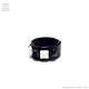 ピラミッドレザーリング 【白黒】/Brindle (ブリンドル)[原宿系ファッション]