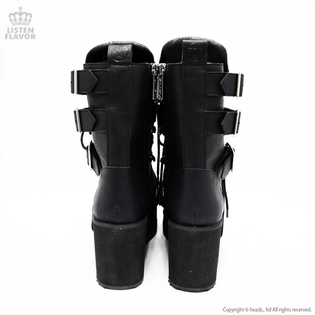 Hell Bound Boots ペンタグラム抜き厚底ブーツ / KILLSTAR(キルスター)
