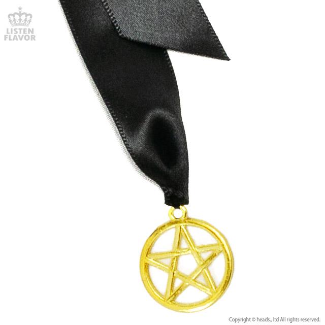 魔法陣ヘアゴム【BLACK/GOLD】 / melonDOLL-魔法少女-[原宿系ファッション]