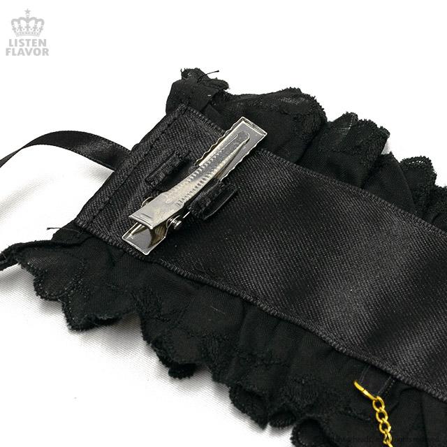 メルティヘッドドレス ムーンナイト【BLACK】 / melonDOLL-魔法少女-[原宿系ファッション]