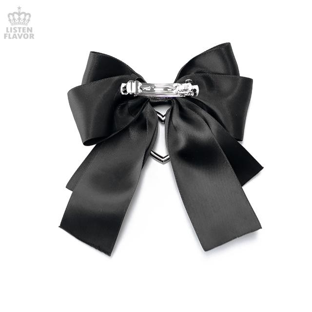 束縛リボンバレッタ【BLACK】 / melonDOLL-魔法少女-[原宿系ファッション]
