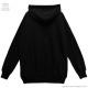 メルティーポチャッコパーカー【BLACK】 /ポチャッコ×リッスンフレーバー [原宿系ファッション]