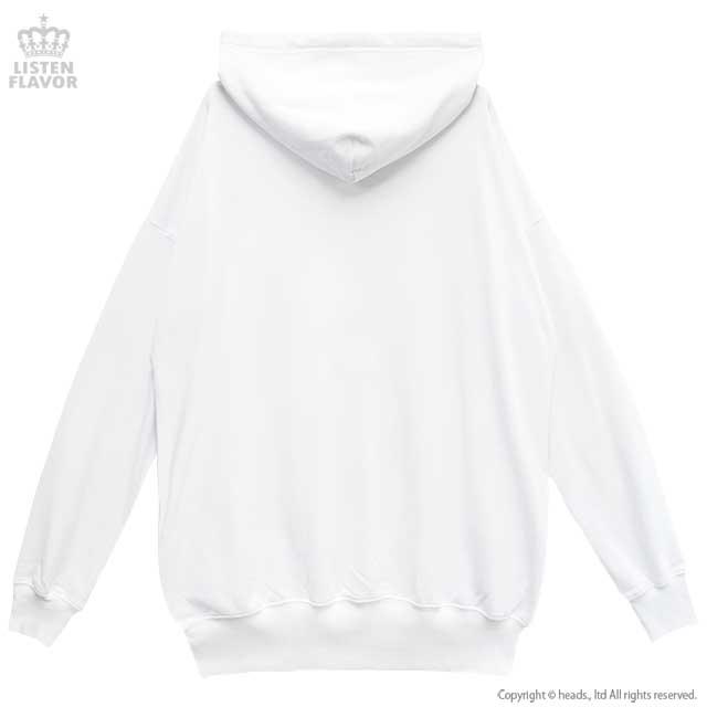 メルティーポチャッコパーカー【WHITE】 /ポチャッコ×リッスンフレーバー [原宿系ファッション]