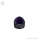リング付レザーリング 【丸スタッズ濃紺クロコ】/Brindle (ブリンドル)[原宿系ファッション]