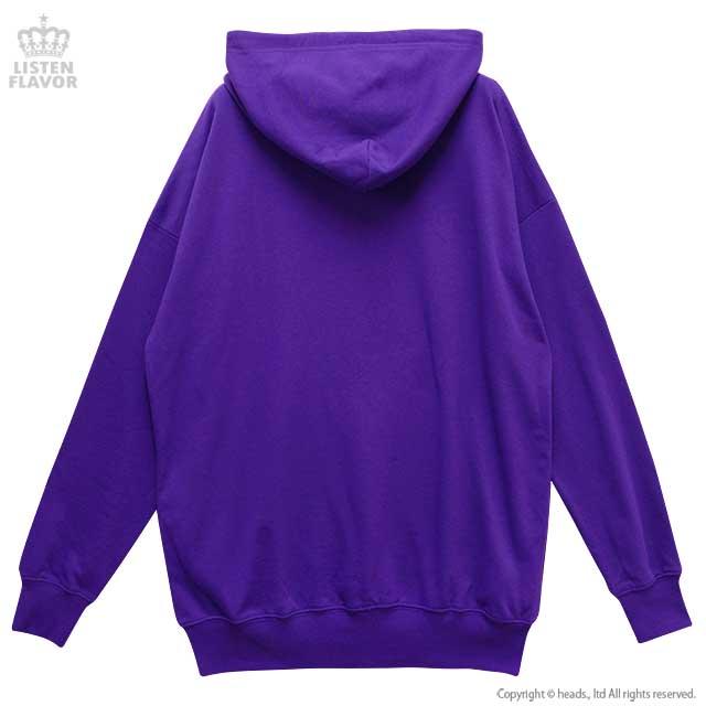 おめかしクロミパーカー【PURPLE】 /クロミ×リッスンフレーバー [原宿系ファッション]