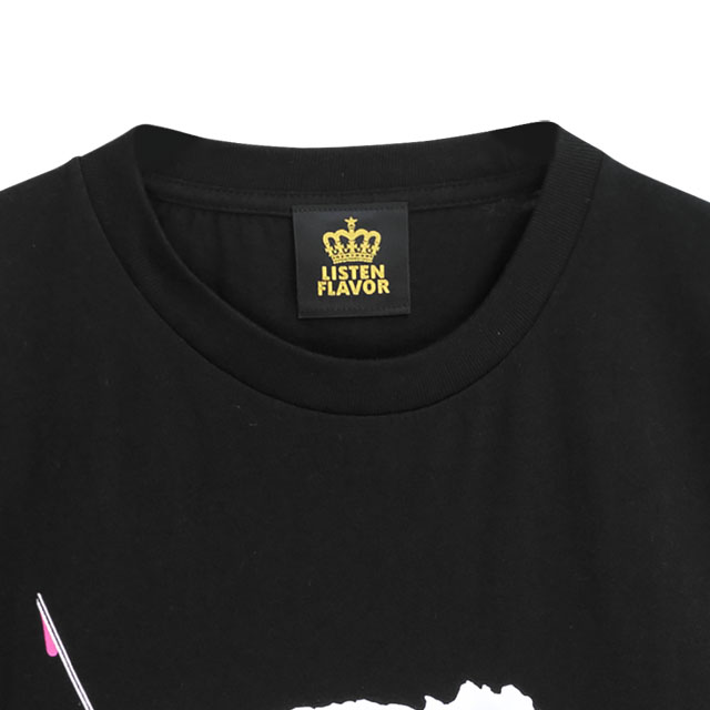 お注射ベアビッグTシャツ 【BLACK】/リッスンフレーバー