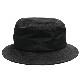 モルフォ刺繍バケットハット 【BLACK】/ リッスンフレーバー