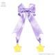 魔女っ子りぼんバレッタ【LAVENDER】 / melonDOLL-魔法少女-[原宿系ファッション]
