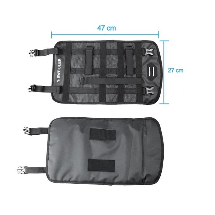 Newboler 3~7リットル ハンドルバーバッグ 完全防水 フロントバッグ