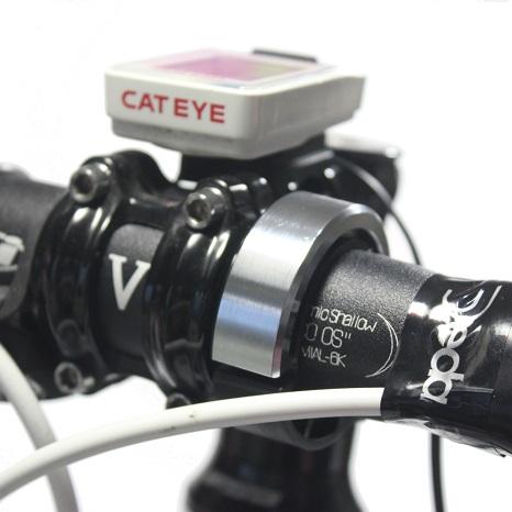 『スタイリッシュベル』 ベルに見えない自転車用ベル 22mm/25.4mm/31.8mm径対応