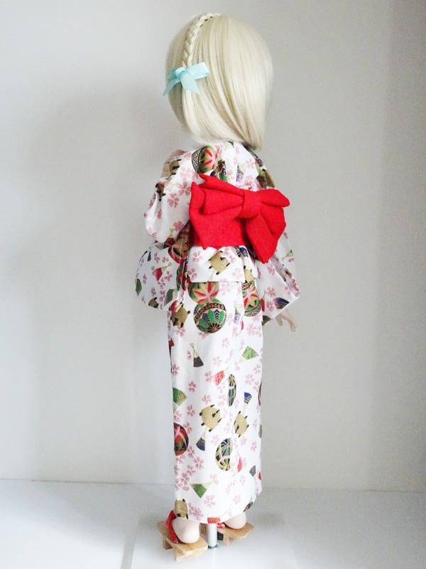 【単品】MDD/DDP/オビツ50/AZO2 浴衣帯(緑)