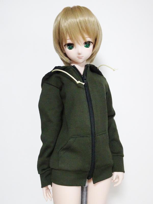 【単品】DD/DDdy/スマートドール ボーイフレンドパーカー(カーキ)