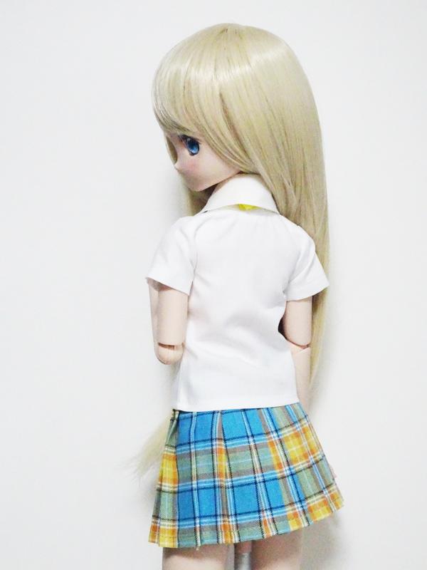 【単品】MDD/DDP 半袖シャツブラウス(白)